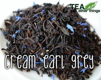 50g Cream Earl Grey - Loose Black Tea