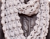 Crochet Infinity Scarf PDF Pattern