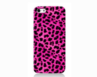 Girly Pink Leopard iPhone case, iPhone 6 case, iPhone 4 case iPhone 4s case, iPhone 5 case 5s case and 5c case