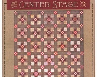 Timeless Traditions Center Stage Quilt Pattern