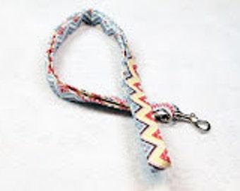 Lanyard, teacher lanyard, Cute Lanyard, Key Lanyard, Badge Lanyard neck strap, lanyard necklace, Landyard Id Badge, id holder-Zig Zag