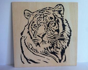 Tiger woodwork scroll saw