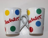 Set of Two Twister Mugs
