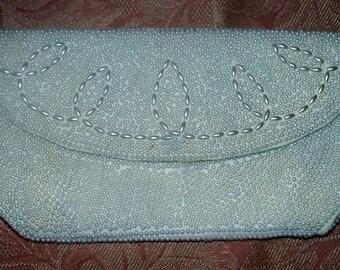 1970s Beaded Clutch - Purse - Handbag  - Vintage