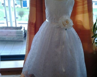 First Holy Communion Dress.