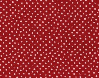 Confetti Dots in Scarlet by Dear Stella