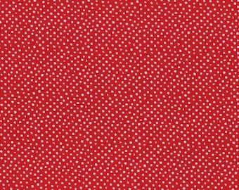 Mini Confetti Dots in Scarlet by Dear Stella