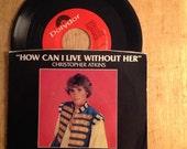 1982 Christopher Atkins 45 rom Record - The Pirate Movie - Kristie McNichol