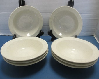 Homer Laughlin Hearthside Shape - Speckled White Cereal Bowls HLC3906 - Set of 4 (2 Sets Available)