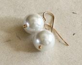 Pearl Earrings Wedding - ...