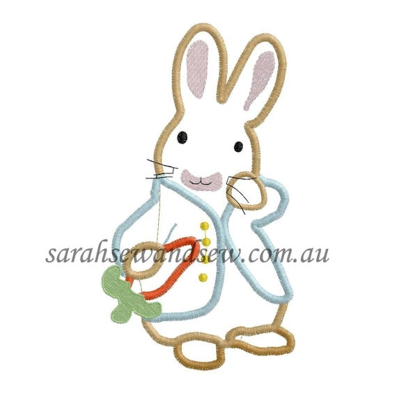 Peter rabbit embroidery design set from sarahsewsew on