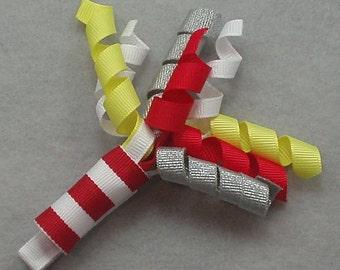 Firework Ribbon Sculpture Clip