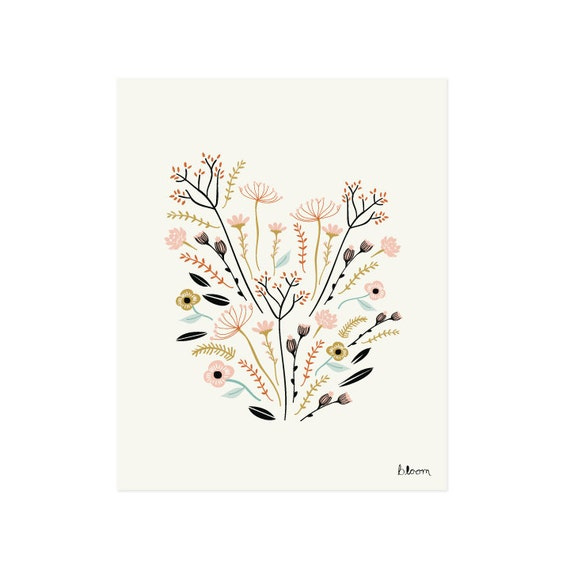 Bloom Art Print 8x10 11x14