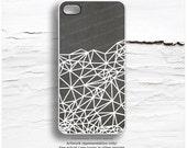 iPhone 6S Case, Gray iPhone 6 Plus Case Geometric, iPhone 5C Case Geo, iPhone 5S Case, iPhone 6 Plus Case, Gray iPhone 6S Plus Cover I101