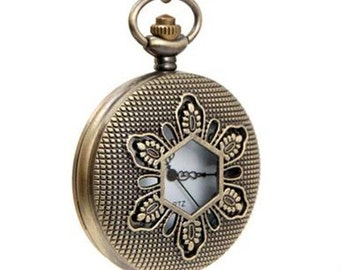 1pcs 45mmx45mm bronze  pocket watch charms pendant