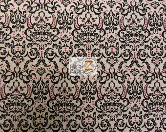 """Ornate Baroque By David Textiles 100% Cotton Fabric - 45"""" Width Sold By The Yard (FH-1052)"""