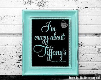 Digital Download, Breakfast at Tiffanys, Holly Golightly, Audrey Hepburn, Quote Print