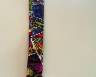 Super hero lanyard with lobster clip