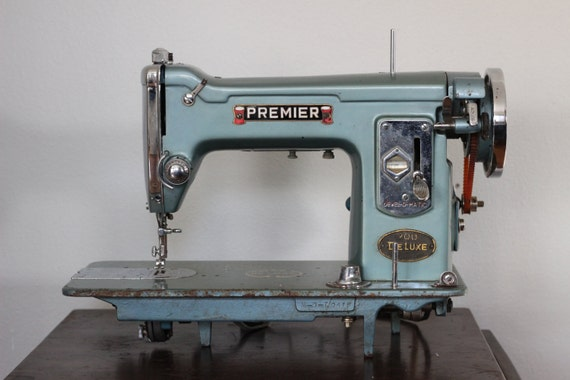 premier deluxe sewing machine