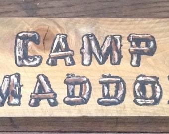 Custom Rustic Signs