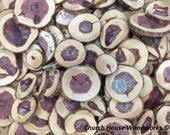 """50 qty 2"""" to 3"""" CEDAR wood slices, crafts, candles, decoration, blanks, rustic weddings, art, mosaic"""