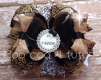 I'm so fancy bow