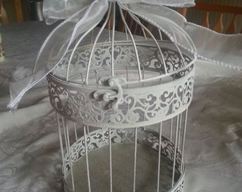 Wedding card birdcage.  Bride to be. Card Holder.