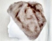 Vintage Belmar Soft Fur Skull Cap Hat