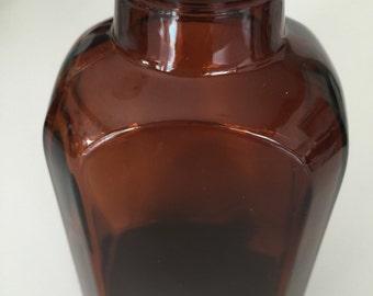 Vintage Brown Bottle