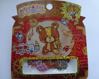 Kamio Japan Kawaii  61pcs stickers/BEAR 46051