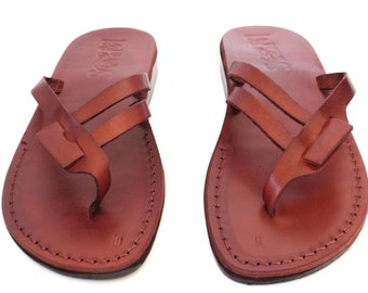 Leather Sandals, Leather Sandals Women, Sandals, Women's Shoes, RACHEL, Flip Flops, Biblical Sandals, Jesus Sandals