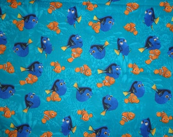 Nemo/Dorie Cotton Fabric by the half yard