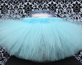 Light Blue Tutu, Baby Blue Tutu, Pale Blue Tutu, Pastel Blue Tutu, Baby Tutus, Girl's Tutus, Birthday Tutus, Cake Smash Tutus, Dress Up Tutu