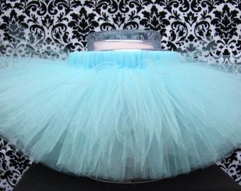 Light Blue Tutu, Pale Blue Tutu, Baby Blue Tutu, Easter Tutu, Girl's Tutu, Baby Tutu, Infant Tutu, Birthday Tutu, Dance Tutu, Handmade Tutu