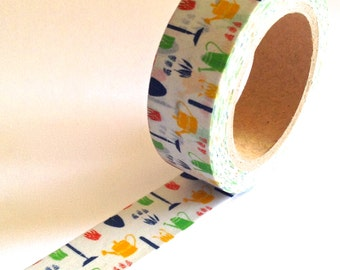 "SALE  Washi Tape ""Spring Garden"" 10 meters"
