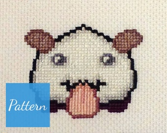 Poro (League of Legends) Cross Stitch Pattern