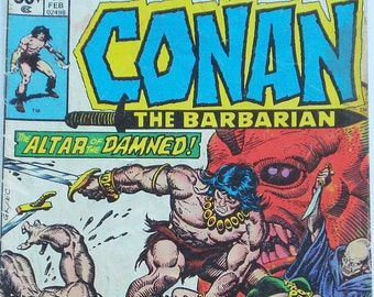 Vintage Conan the Barbarian -- Comic Book Marvel Comics Group Vol. 1, No. 71, February 1977