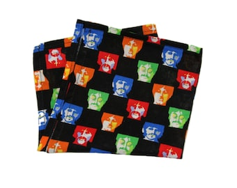 "SALE - 1 The Beatles Cotton 9"" x 9"" Inch Pocket Square"