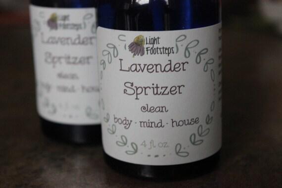 Lavender Spritzer - Herbal Scents for Mind, Body, Home