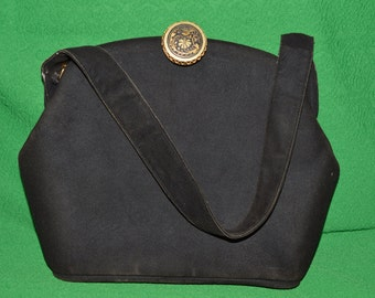 Loewe Evening antilope Handbag bag purse 40-50s  vintage brown