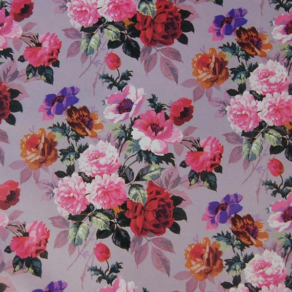 decoupage wrapping paper vintage flowers decoupage paper pink wrapping paper