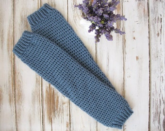 Womens Boot Liners |  Yoga Leg Warmers | Knit 80's Legwarmers | Boot Warmers | Boot Socks