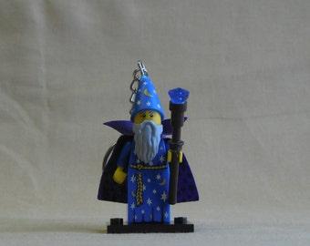 Wizard Lego Keychain