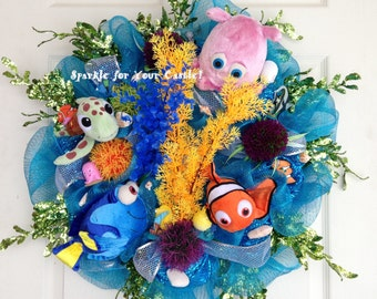 Finding Nemo Wreath