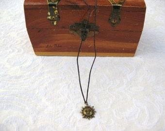 Sun Necklace / men's jewelry / jewelry / teen jewelry / women's jewelry / men / women / boys jewelry / girls jewelry