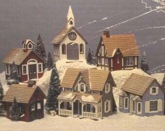 The Greenleaf Village, Christmas Under the Tree, Train Town Village, Dollhouses, by Greenleaf