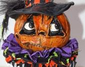 Sophia Pumpkin Witch