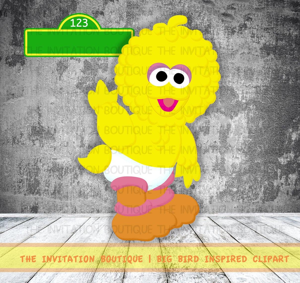 Sale Item Baby Big Bird Cookie and Elmo Sesame street