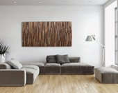 Reclaimed wood wall art made of old barnwood, Different Sizes Available.