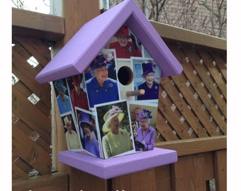 Queen Elizabeth Birdhouse